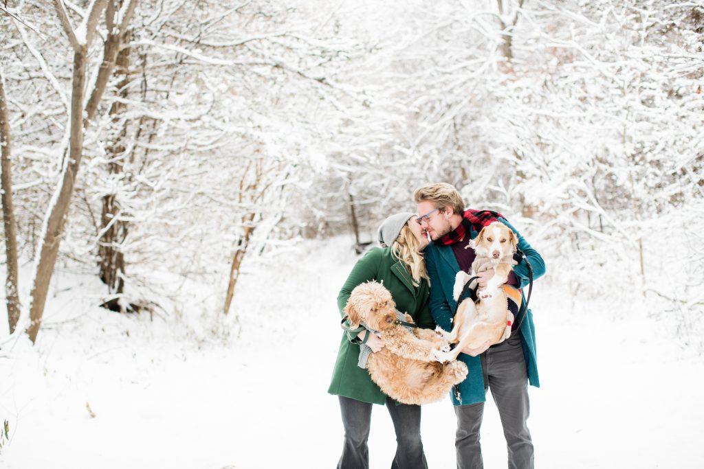 Lifestyle Family Photos with Dogs Eden Prairie MN