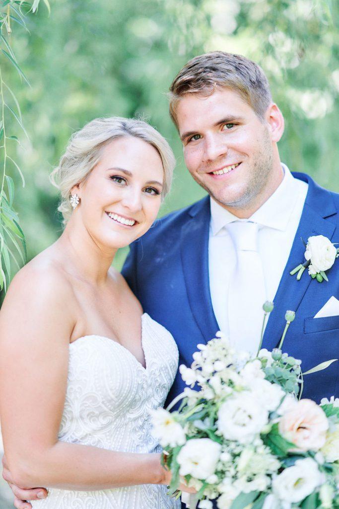 Wedding Couple  Minneapolis Wedding Photographer   Minnetonka St. Therese Wedding Hilton Minneapolis Bloomington