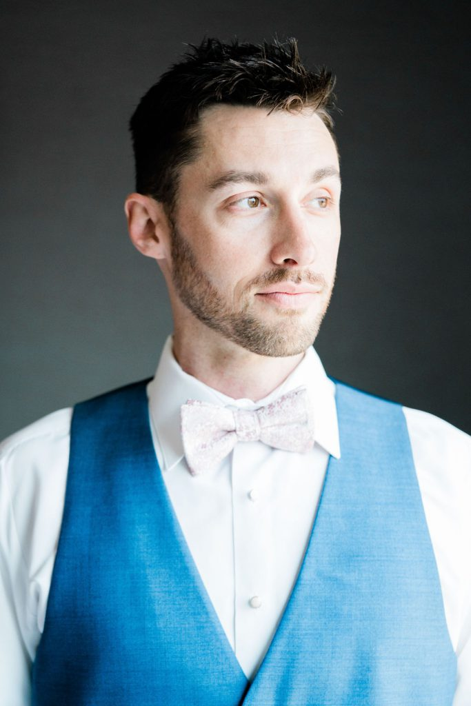 Groom's Portraits | Minnesota Boat Club Wedding Photos | Minneapolis FIne Art Wedding Photographer