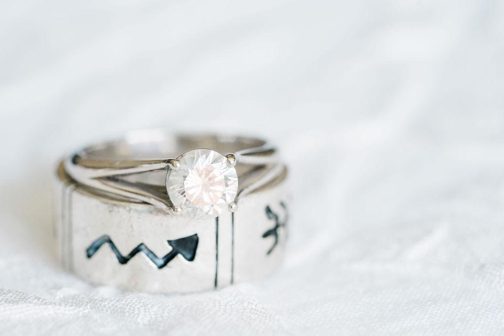 Wedding Rings | Minnesota Boat Club Wedding Photos | Minneapolis Fine Art Wedding Photographer
