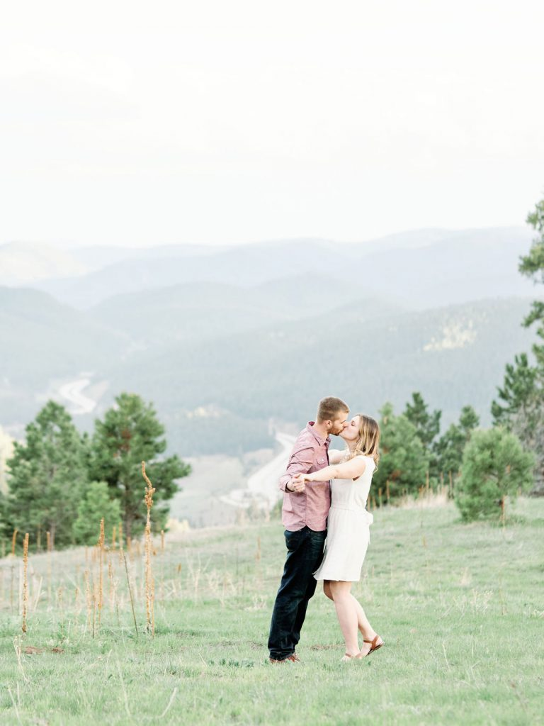 Minneapolis Adventurous Engagement Photographer | Travel Engagement Photos | Mountain Engagement Photos