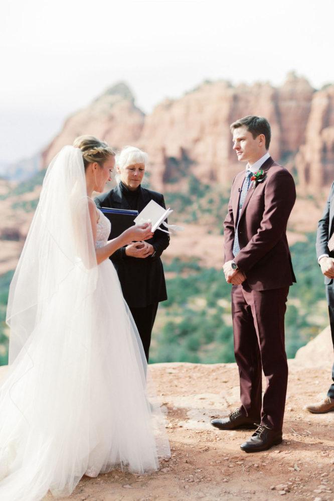 Minneapolis Elopement Wedding Photographer Sedona Wedding Photographer